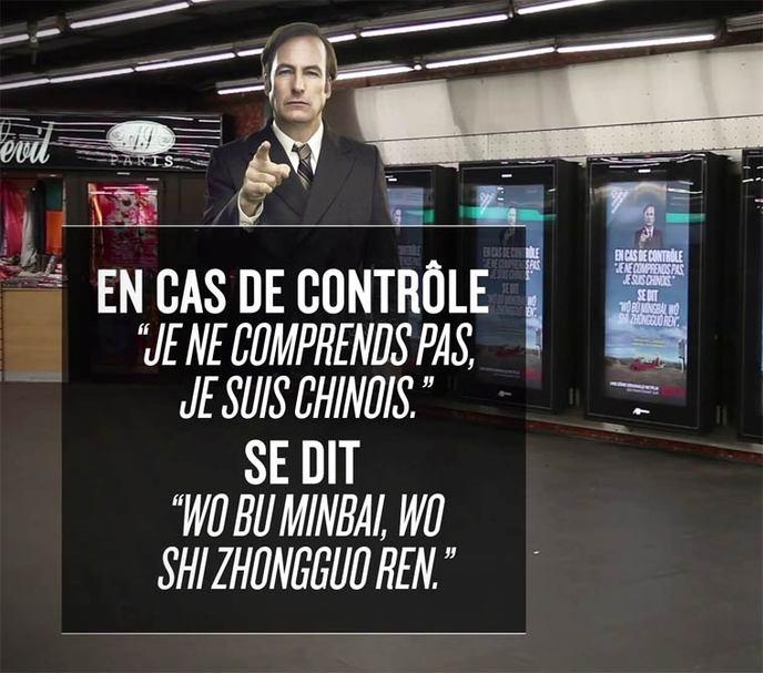 better call saul campagne virale paris 10