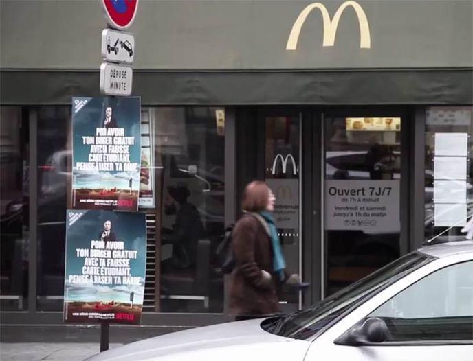 better call saul campagne virale paris 9