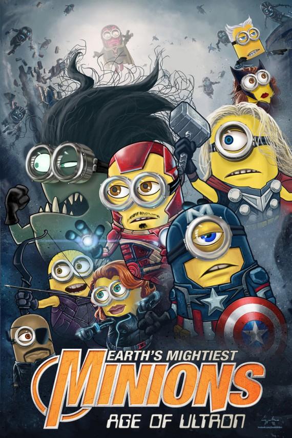 Avengers Minions 1