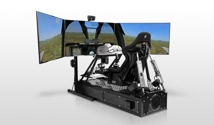 ce simulateur de pilotage est assez puissant pour vous briser les os. Black Bedroom Furniture Sets. Home Design Ideas
