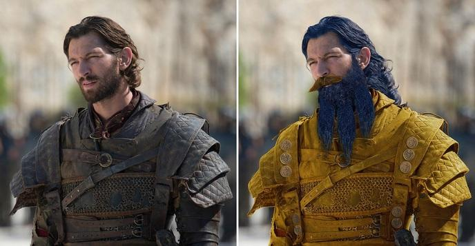 différence physique game of thrones 5