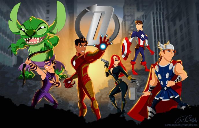 disney marvel avengers 24