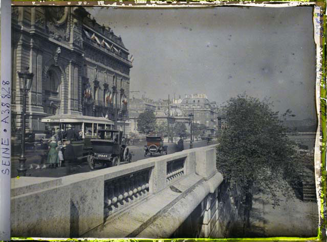 D 39 incroyables photos tr s rares de paris datant du si cle for Quai d orsay metro