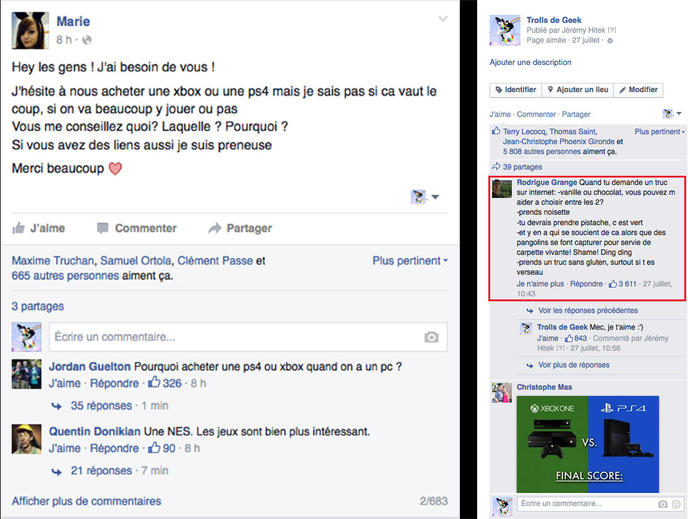 Commentaire TDG