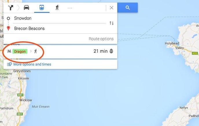 easter eggs google maps 5