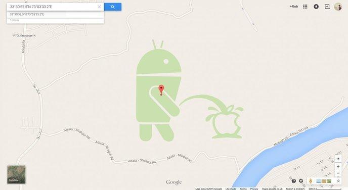 easter eggs google maps 7