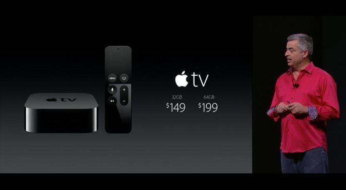 nouvelle apple tv pr sentation des nouvelles fonctionnalit s caract ristiques prix et date. Black Bedroom Furniture Sets. Home Design Ideas