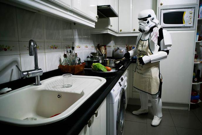 Stormtrooper au foyer