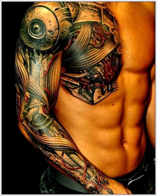 tatouage biomécanique 33