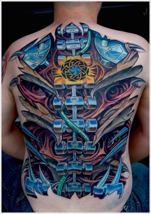 tatouage biomécanique 28