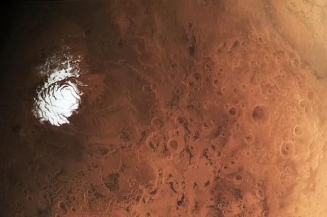 Mars Glacier 2