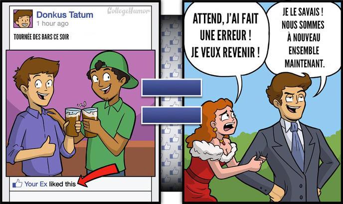 triste réalité Facebook 3