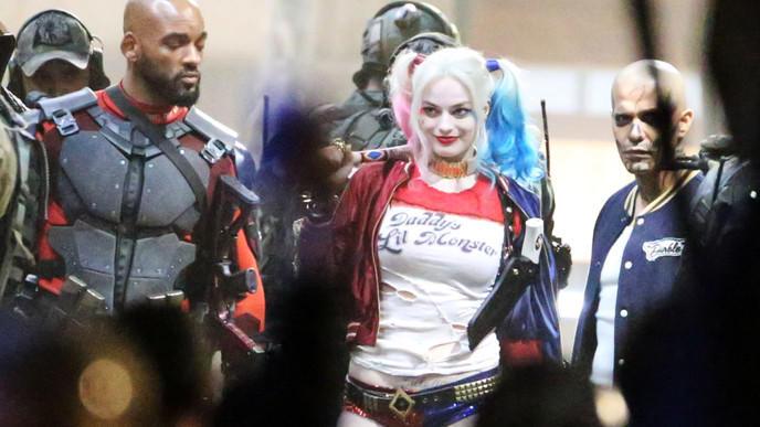 méchant clown batman