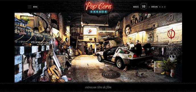 Popcorn garage un quizz cin ma qui va vous faire p ter for Garage qui fait credit