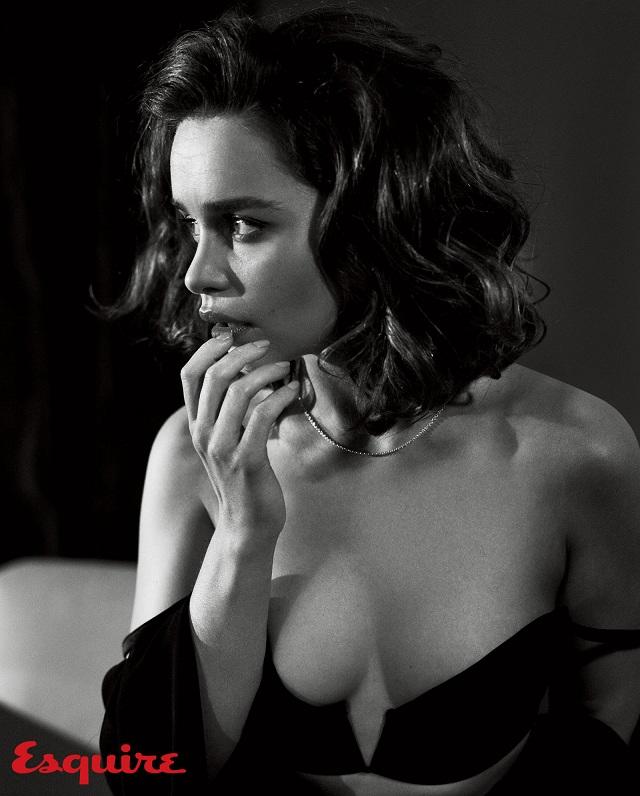 emilia clarke sexy esquire 5