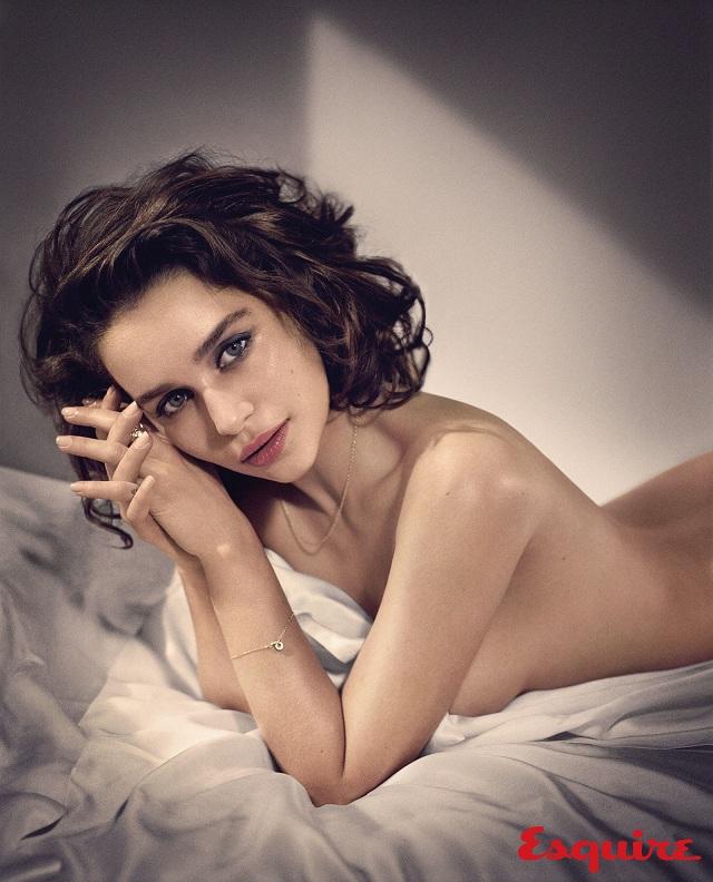 emilia clarke sexy esquire 4