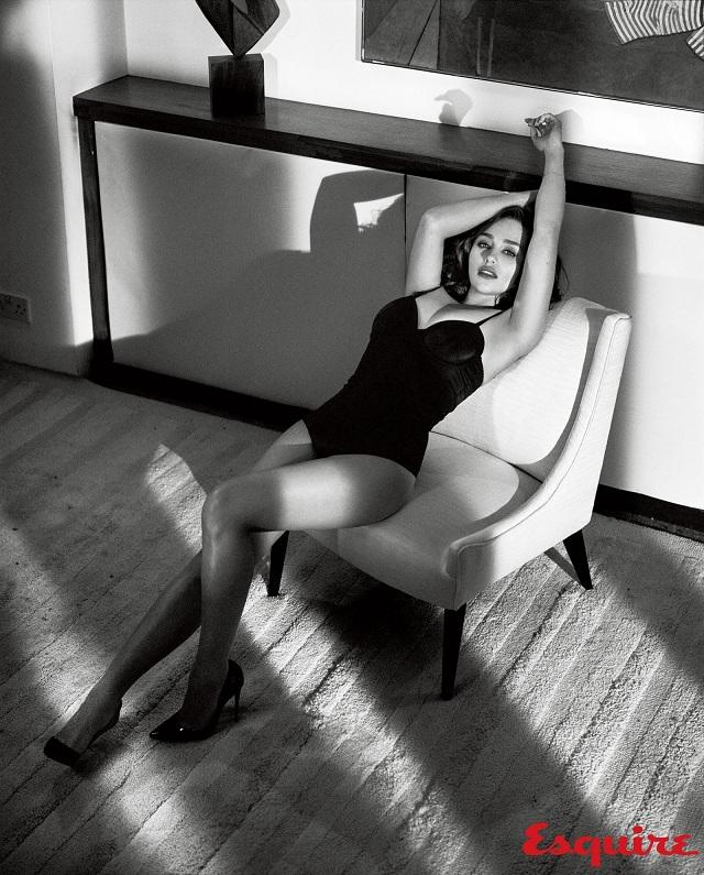 emilia clarke sexy esquire 3