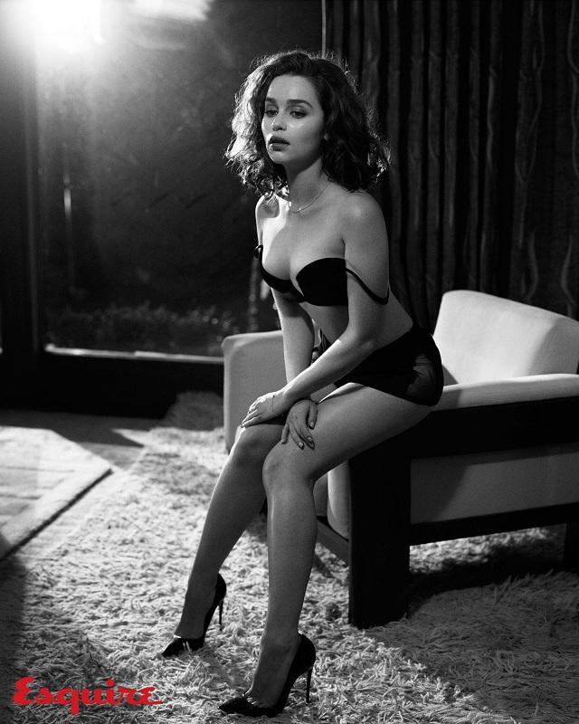 emilia clarke sexy esquire 2
