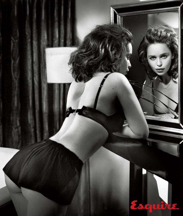 emilia clarke sexy esquire 1