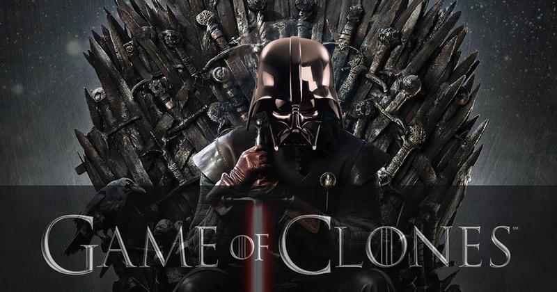 star wars vs game of thrones en 20 images 2 me partie. Black Bedroom Furniture Sets. Home Design Ideas