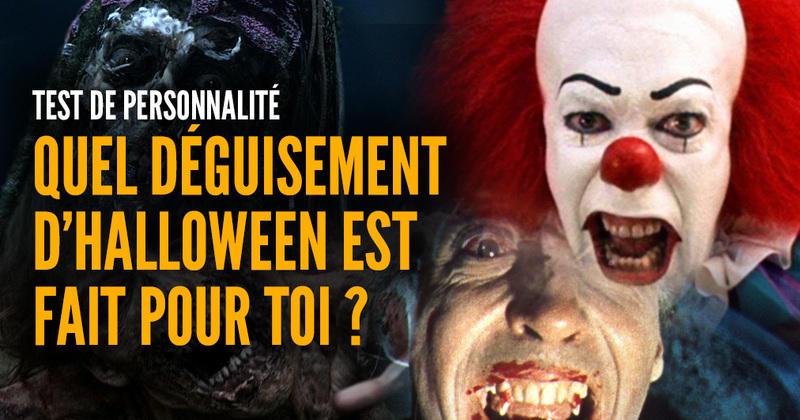 Test De Personnalité Quel Déguisement D Halloween Est Fait