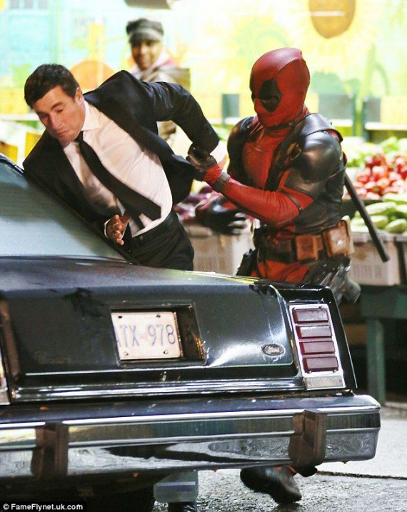 deadpool photo tournage 5