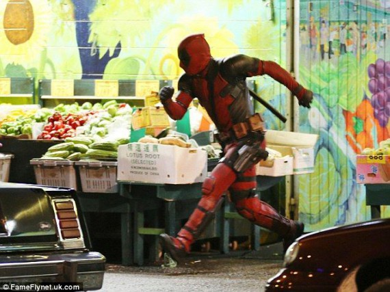 deadpool photo tournage 7