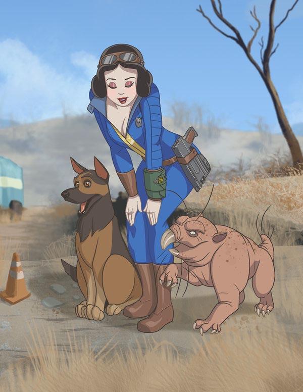 princesse disney fallout
