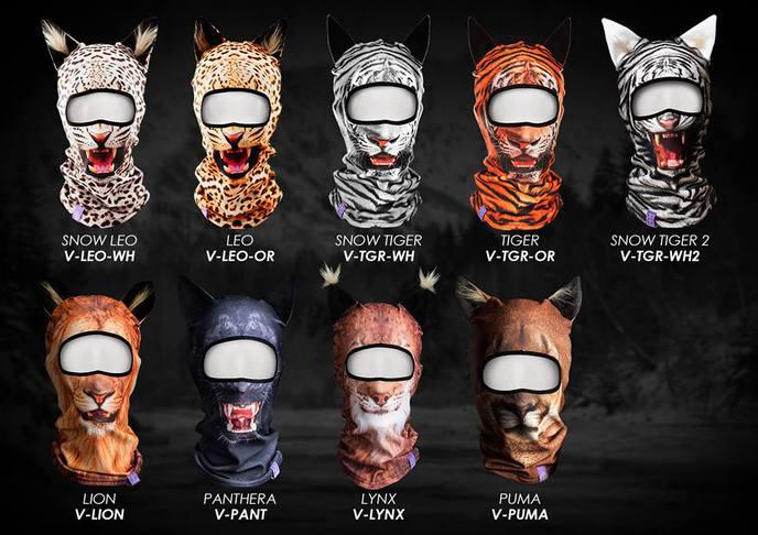 cagoule animal ski mask 1