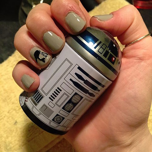 nail art star wars 12