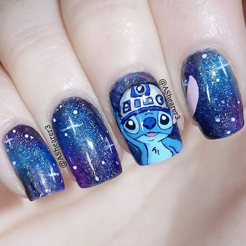 nail art star wars 10