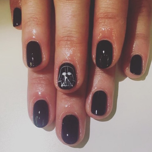 nail art star wars 19