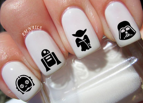 nail art star wars 27