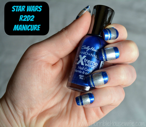 nail art star wars 24