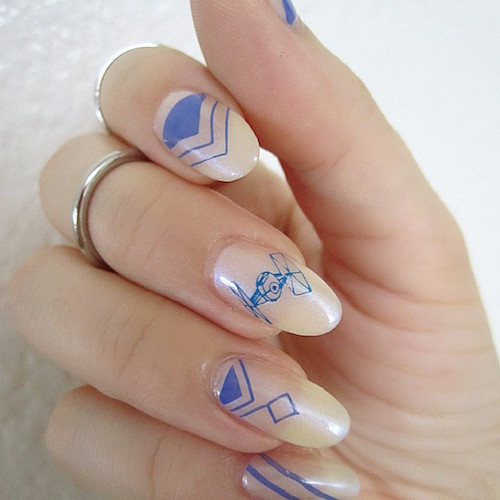 nail art star wars 15