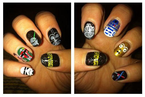 nail art star wars 7