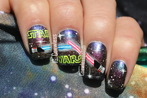nail art star wars 25