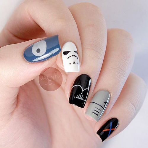 nail art star wars 23