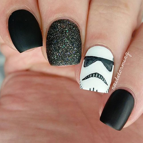 nail art star wars 17