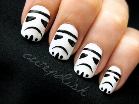 nail art star wars 30
