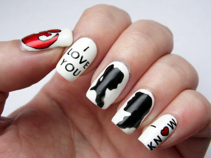 nail art star wars 1