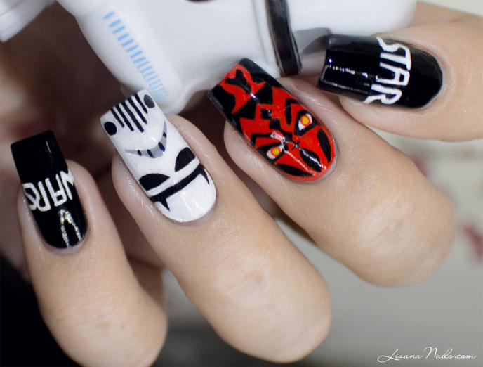 nail art star wars 8