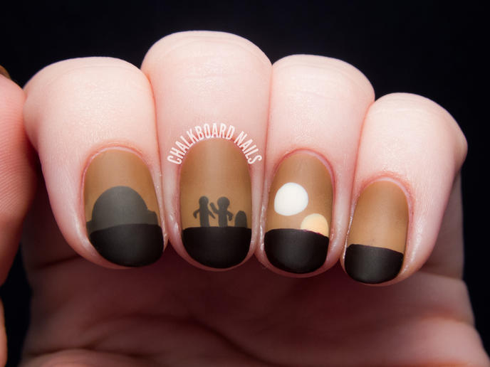nail art star wars 3