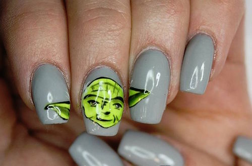 nail art star wars 16