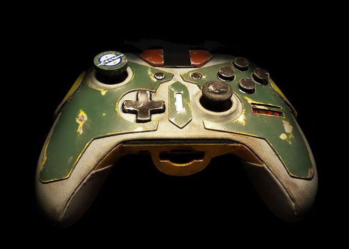 Boba Fett A Sa Propre Manette Xbox
