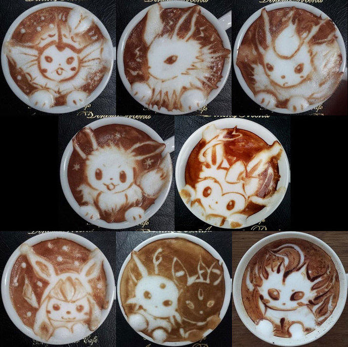 Le Latte Art Se Décline En Version Geek ! (40 Photos
