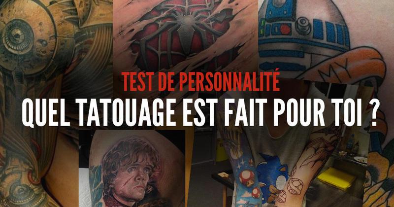 Test De Personnalite Quel Tatouage Est Fait Pour Toi