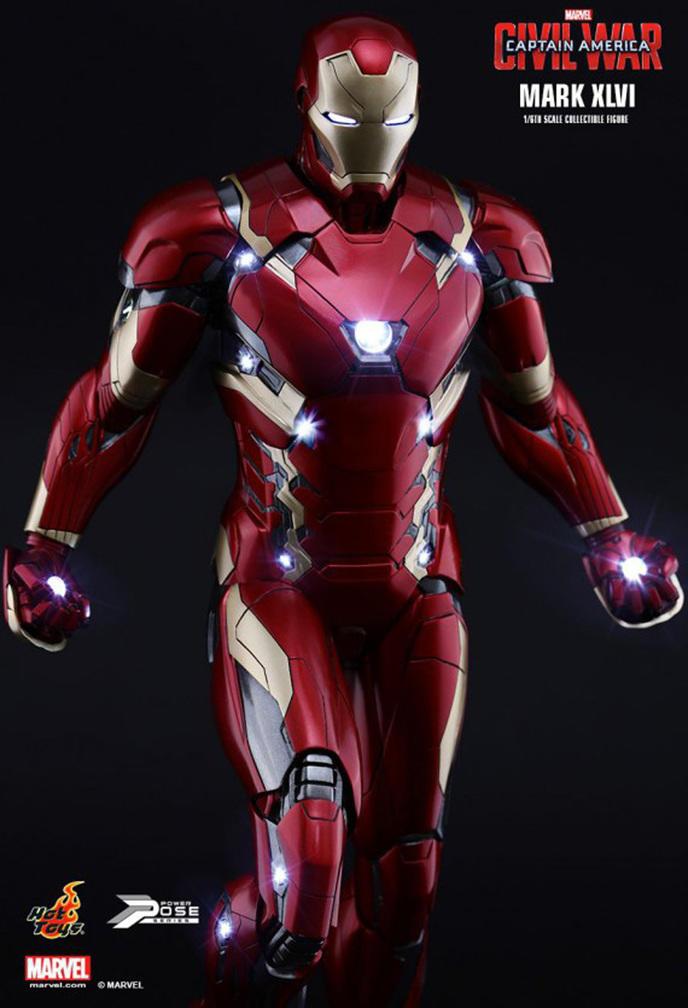 civil war la nouvelle armure d iron man sous toutes les