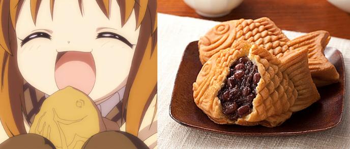 Patisserie japonaise dorayaki for Poisson japonais nourriture