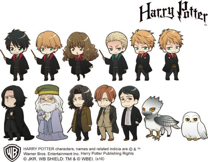 Dessin animé harry potter